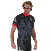 Bianchi Milano Maillot Manches Courtes Cinca Soldes Nice