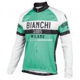 Bianchi Milano Maillot Manches Longues Curno Commerce De Gros