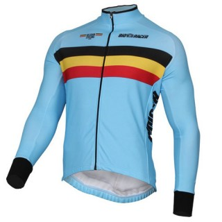 Bioracer Maillot Manches Longues Equipe Nationale Belge 2017 Europe