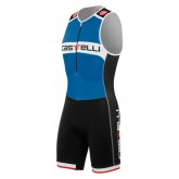Boutique officielleCastelli Body Triathlon Sans Manches Core Bleu-Noir
