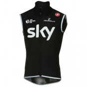 Collection Castelli Gilet Perfetto Team Sky 2017 Soldes