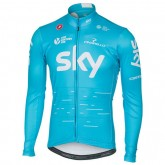 Castelli Maillot Manches Longues Team Sky 2017 Promos