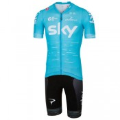 France Castelli Set (2 Pièces) Team Sky Aero 2017