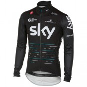 Castelli Veste Imperméable Team Sky 2017 Pro Fit Pas Cher Paris