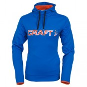 Achetez Craft Hoody Logo Bleu-Orange
