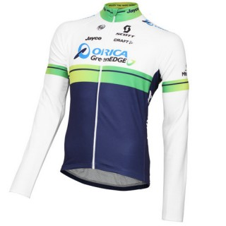 Rabais Craft Maillot Manches Longues Orica Greenedge 2015