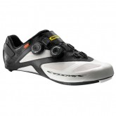 Mavic Chaussures Route Cosmic Ultimate 2017 Blanches-Noires France Magasin