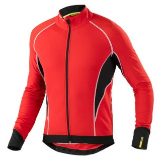 Mavic Maillot Manches Longues Cosmic Elite Rouge Soldes Provence