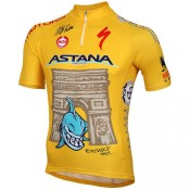 Moa Maillot Manches Courtes Astana Pro Team Tdf Edition Faire une remise