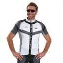 Mode Nalini Maillot Manches Courtes Rigel Blanc-Noir