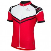 Nalini Maillot Manches Courtes Zincite Rouge Site Officiel France