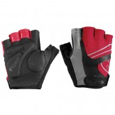 Roeckl Gants Bagwell Rouges-Noirs Pas Chere