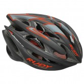 Rudy Project Casque Sterling 2017 Black-Red Fluo Mat Lyon