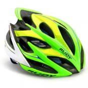 Rudy Project Casque Windmax 2017 Lime Fluo-Blue Bonnes Affaires