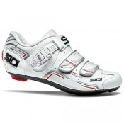 SIDI Chaussures Route Femme Level 2017 Blanches Soldes Marseille