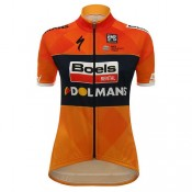 Santini Maillot Femme Boels Dolmans Cycling Team Vendre France