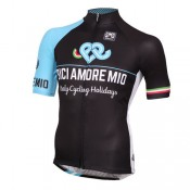 Santini Maillot Manches Courtes Bici Amore Mio 2016 Site Officiel France