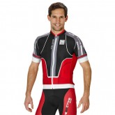 Authentique Santini Maillot Manches Courtes Interactive Aero