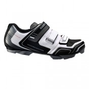 Shimano Chaussures VTT Sh-Xc31 Noires-Blanches Promotions
