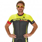 Site Sportful Maillot Manches Courtes Gruppetto Team