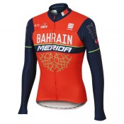 Sportful Maillot Manches Longues Bahrain-Merida 2017 Europe