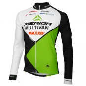 Texmarket Maillot Manches Longues Multivan Merida Biking Team Moins Cher