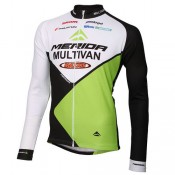Texmarket Maillot Manches Longues Multivan Merida Biking Team France Pas Cher