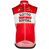 Site Officiel Vermarc Gilet Coupe-Vent Lotto Soudal 2017 Prix