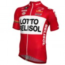 Vermarc Maillot Manches Courtes Lotto Belisol 2014 Moins Cher
