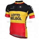 Vermarc Maillot Manches Courtes Lotto Belisol Champion Belge France Pas Cher