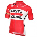 Vente Vermarc Maillot Manches Courtes Lotto Soudal 2015