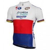 Site Vermarc Maillot Manches Courtes Omega Pharma-Quick-Step Champion Du