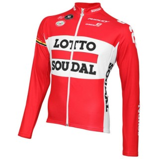 Vermarc Maillot Manches Longues Lotto Soudal 2015 Vendre