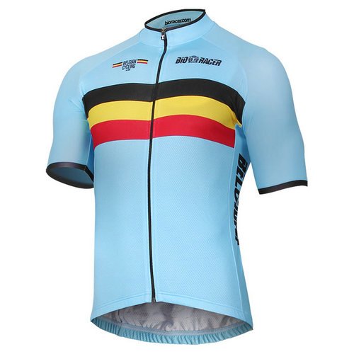 Bioracer Maillot Manches Courtes Equipe Nationale Belge