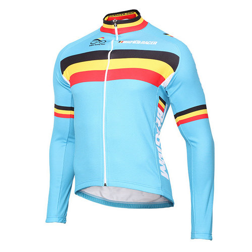 Bioracer Maillot Manches Longues Equipe Nationale Belge 2016