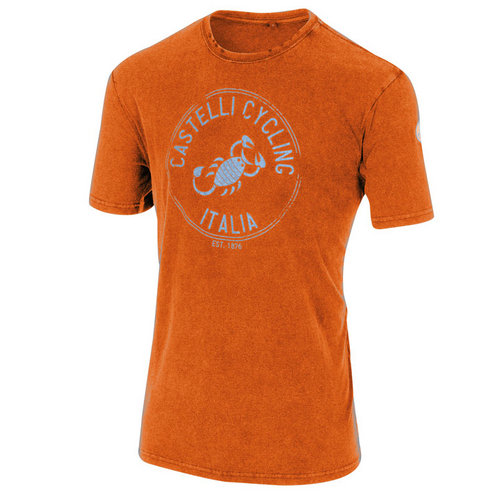 Castelli T-Shirt Armando Orange
