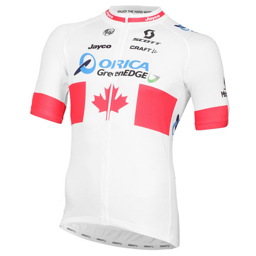 Craft Maillot Manches Courtes Orica Greenedge Champion