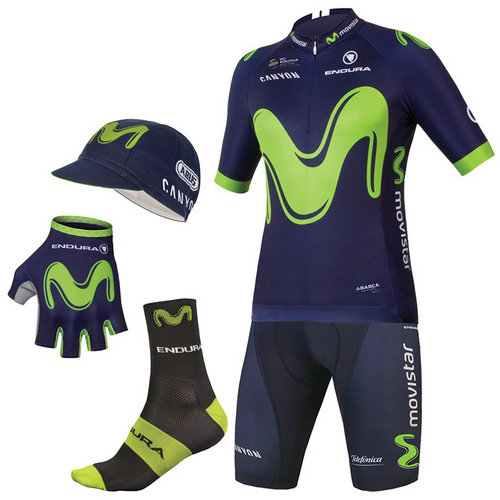 Endura Maxi-Set Movistar Team 2017 (5 Pièces)