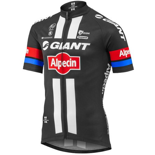 Giant Maillot Manches Courtes Giant-Alpecin 2016