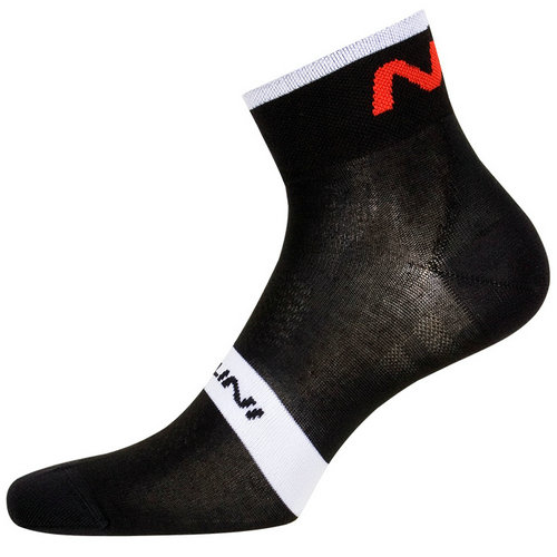 Nalini Chaussettes Na Noires-Blanches