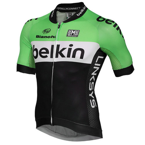 Santini Maillot Manches Courtes Belkin Pro Cycling