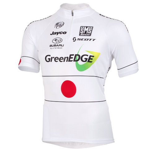 Santini Maillot Manches Courtes Greenedge Cycling