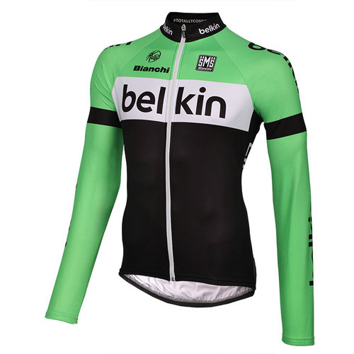 Santini Maillot Manches Longues Belkin Pro Cycling 2014
