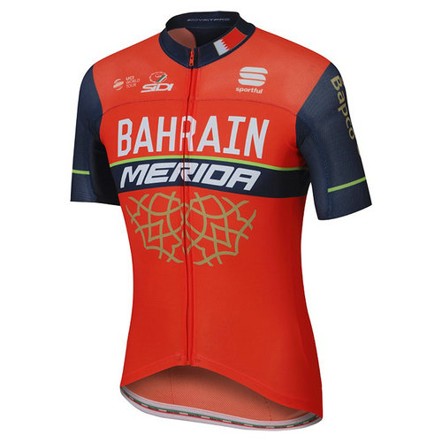 Sportful Maillot Manches Courtes Pro Race Bahrain Merida 2017