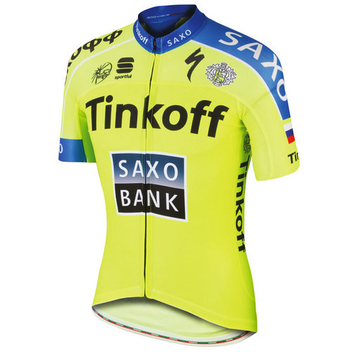 Sportful Maillot Manches Courtes Tinkoff-Saxo Race 2015