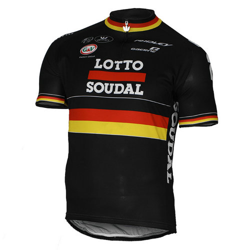 Vermarc Maillot Manches Courtes Lotto Soudal Champion Allemand