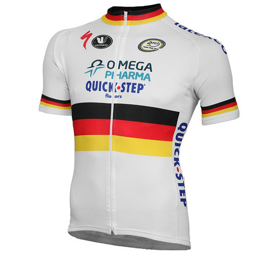 Vermarc Maillot Manches Courtes Omega Pharma-Quick-Step Champion Du