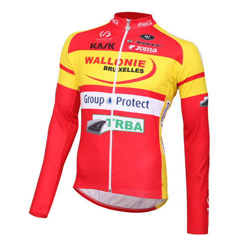Vermarc Maillot Manches Longues Wallonie Bruxelles-Group