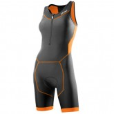 2XU Body Triathlon Femme Perform Gris-Orange Vendre Paris