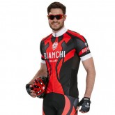 Bianchi Milano Maillot Manches Courtes Ocreza Soldes